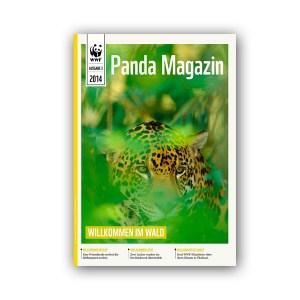 Pandamagazin Jaguar + Regenwald