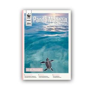 Pandamagazin Schildkröte + Meere