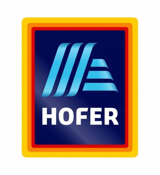 Logo der Firma Hofer