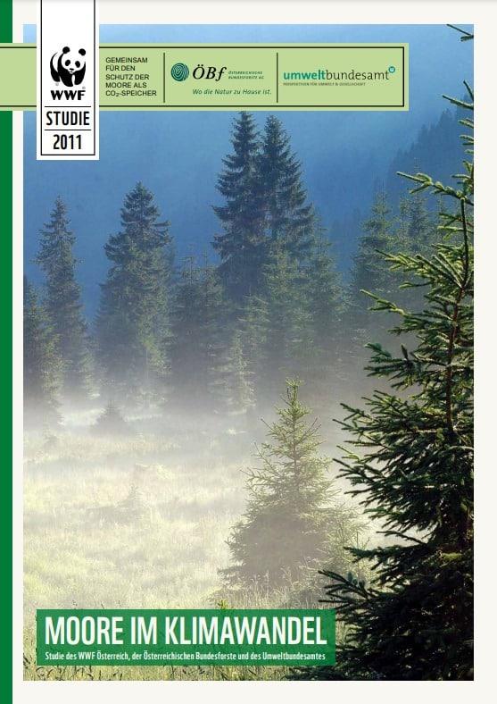 Cover sder Studie Moore im Klimawandel