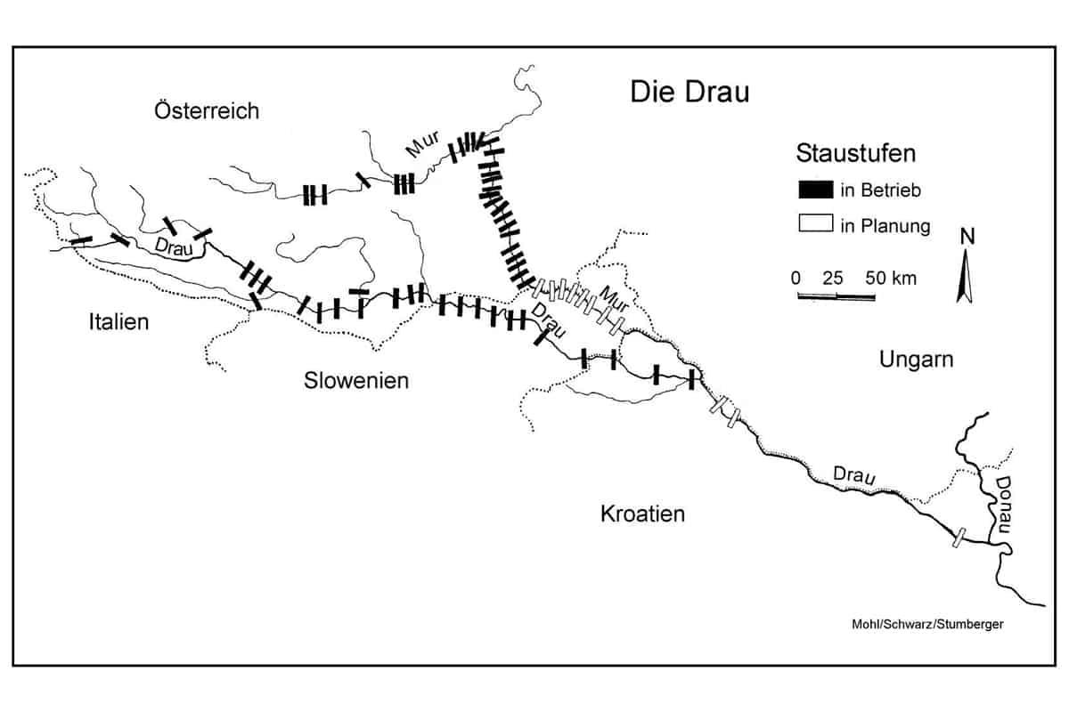 Kraftwerkskette Drau-Mur Update April 2018