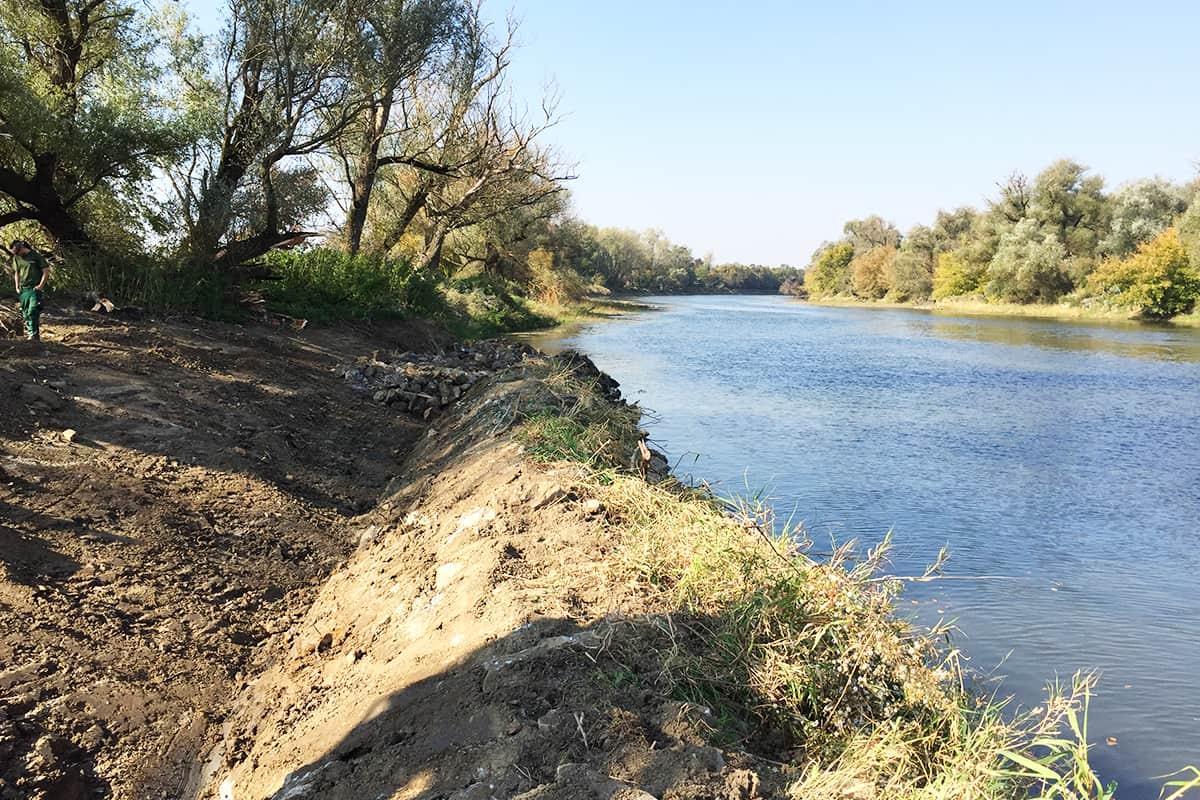 Uferverbauung