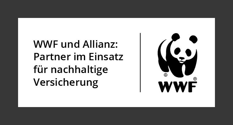Kooperation Allianz Versicherung und WWF (c) WWF