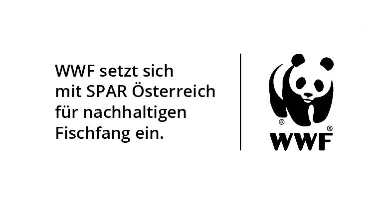 Kooperation SPAR Fischwang und WWF Logo