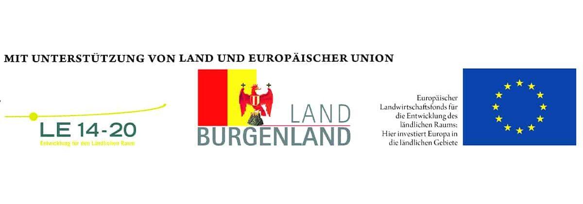 Logo EU und Land Burgenland
