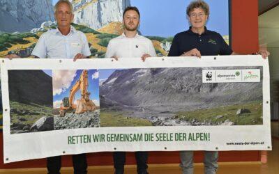 Nein zur Gletscherverbauung Pitztal-Ötztal. Österreichs Alpenschutzverbände fordern sofortigen Projektstopp