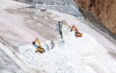 Neue Bilder zeigen den Ausbauwahn des Wintertourismus. WWF fordert Gletscherschutz ohne Ausnahmen