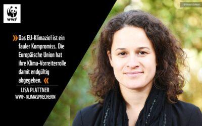 """EU-Klimaziel: WWF sieht """"faulen Kompromiss auf Kosten des Planeten"""""""
