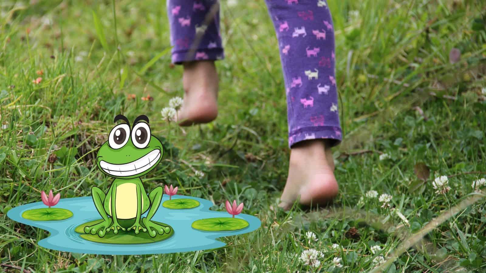 Fang den Frosch! Ein Bewegungsspiel für alle ab 7 Jahren