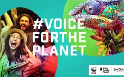 Vincent Bueno gibt seine Stimme dem Planeten und unterstützt WWF-Petition #VoiceForThePlanet