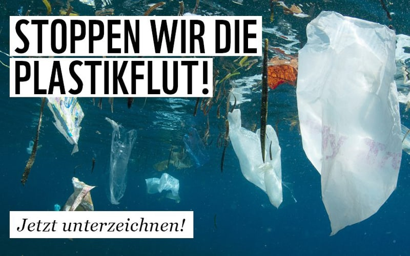 Petition: Stoppen wir die Plastikflut