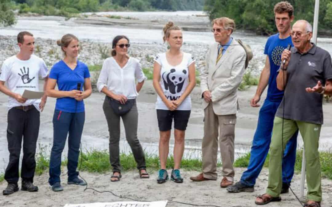 Umweltschutzorganisationen fordern beim Flusserlebnistag effektiven Schutz des Naturjuwels Isel