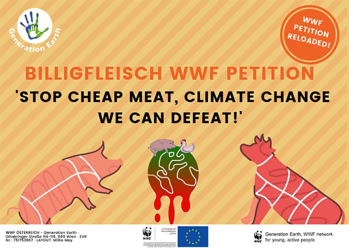 Petition: Billigfleisch stoppen
