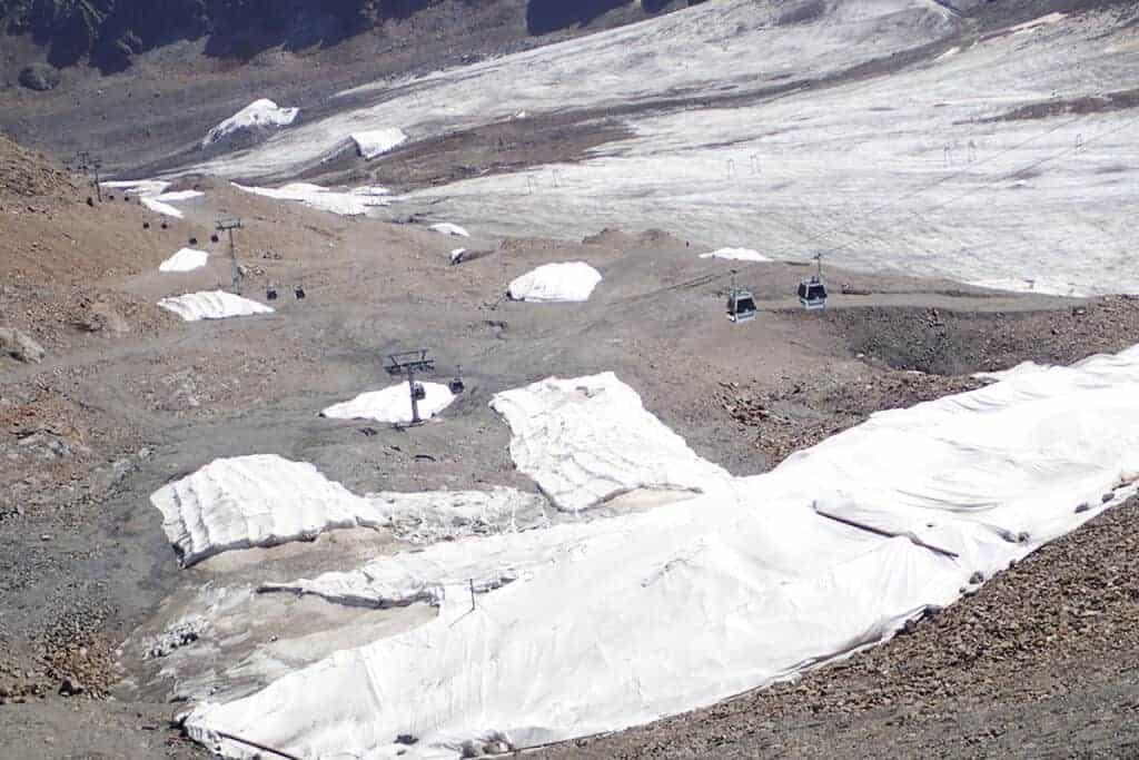 Alpine Kaunertaler Skigebiet/ © Anton Vorauer-WWF