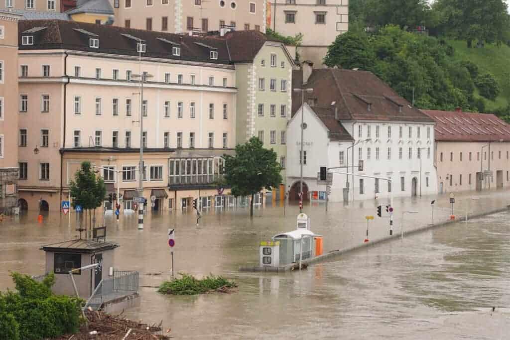 Hochwasser in der Linzer Altstadt/ © AdobeStock