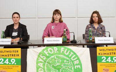 Fridays for Future und WWF rufen zum weltweiten Klimastreik auf