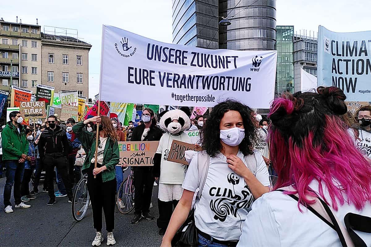 Klimasprecherin Lisa im Interview @ Kathrin Lhotka-Brock / WWF