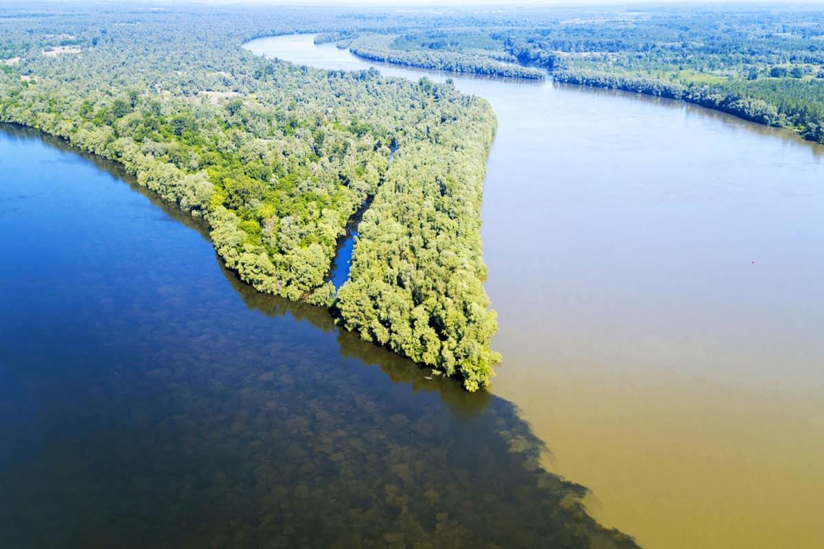 Drau Donau Muendung