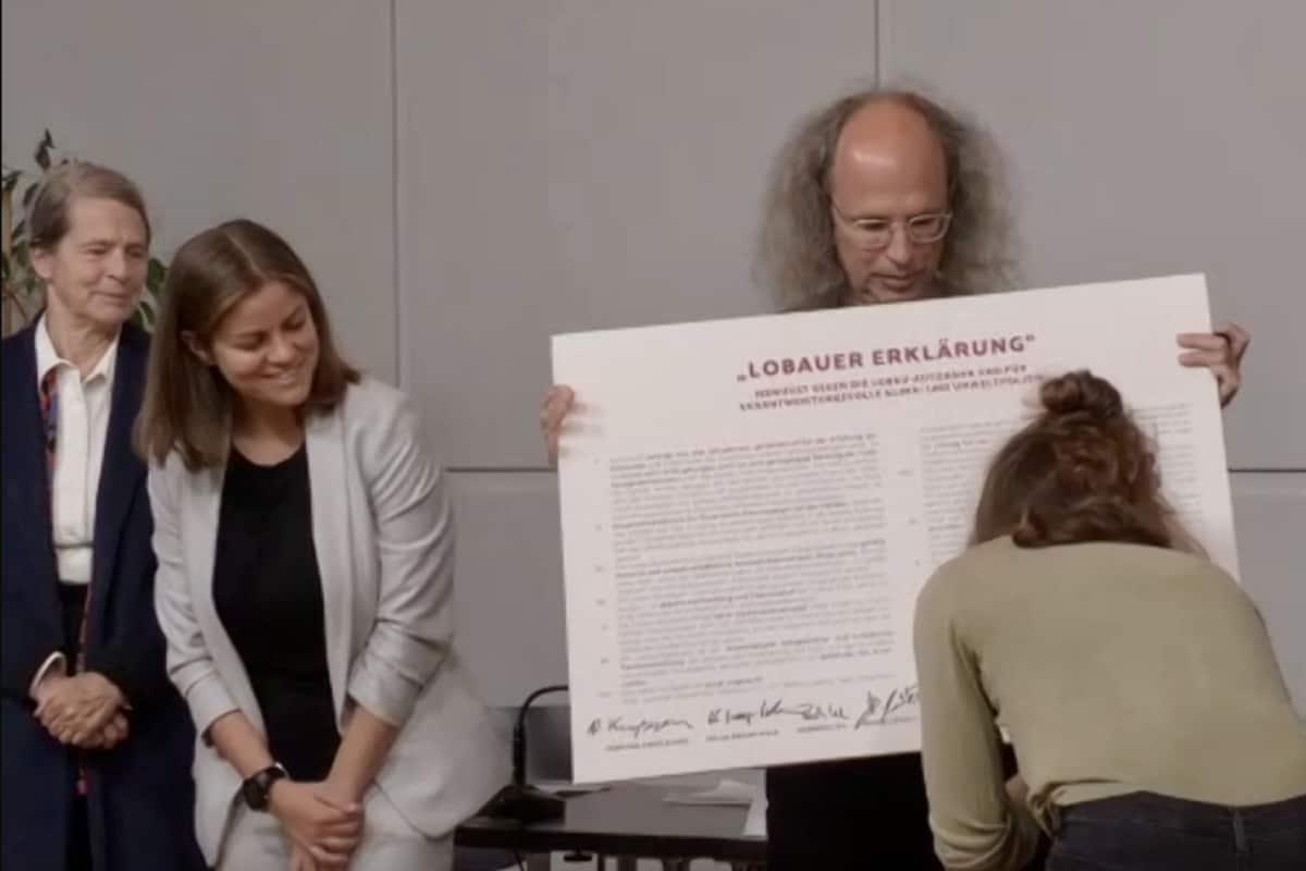 """Wissenschaftler*innen und Umweltschützer*innen unterzeichnen die """"Lobauer Erklärung"""""""