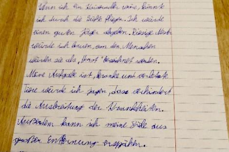 Sebastian aus Klagenfurt will fliegen © privat